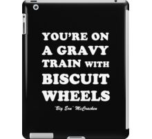 Kingpin - Gravy Train With Biscuit Wheels iPad Case/Skin