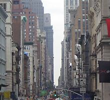 Broadway, New York City by Estelle O'Brien