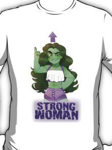 She-Hulk- Strong Woman T-Shirt