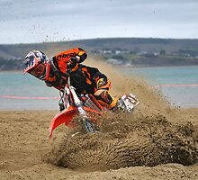 Weymouth Beach Race MotoX 1 by Love Through The Lens