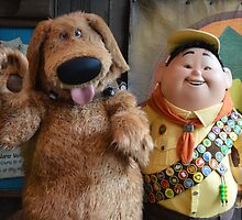 Disney Pixar UP Russell Dug Dog Wilderness Explorer by notheothereye