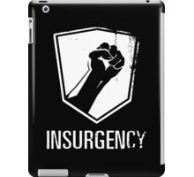 Insurgency Logo (Black) iPad Case/Skin