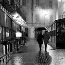 Walking in the rain by annalisa bianchetti