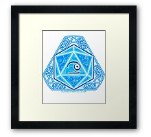 The Eye of Wynn Framed Print
