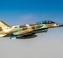 Israeli Air Force (IAF) F-16I Fighter jet in flight by PhotoStock-Isra