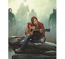 Ellie Playing the Guitar - TLOU Photographic Print