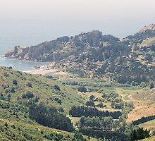 Above Green Gulch Farm & Muir Beach, CA by stephen hewitt