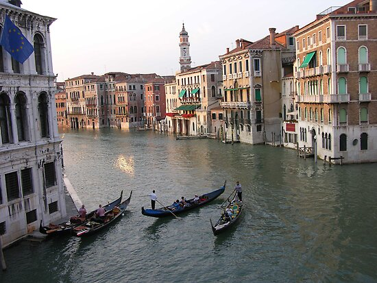 Venice view from Rialto Bridge by Duncan Drummond