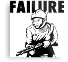 Failure Metal Print