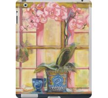 Elizabeth's Pink Orchid in a Sunny Window iPad Case/Skin