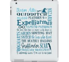 Harry Potter Addicted - Quotes iPad Case/Skin