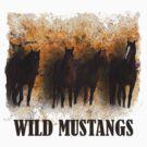 Wild Mustangs by Judson Joyce