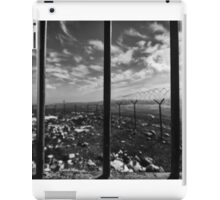 The World Behind Military Bars iPad Case/Skin