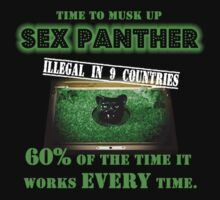 Anchorman - Sex Panther - FOR MEN ONLY T-Shirt
