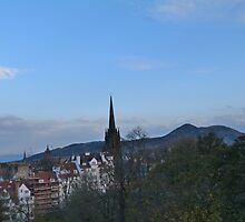 Church Spire and Little Holland by Simons-Seagull