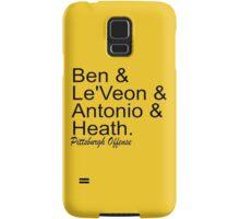 Pittsburgh Offense Samsung Galaxy Case/Skin