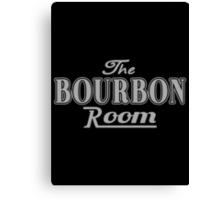 The Bourbon Room Canvas Print