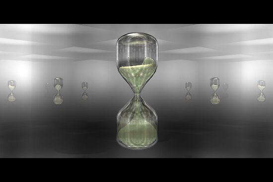 Hourglass - An Homage to Computers by Giles