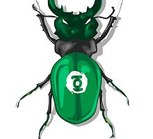 Lanternaviridis AKA Green Bug by mjcowan