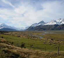Scenic mountain landscape by Milonk