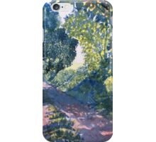 """Hockney's Tunnel of Trees"" iPhone Case/Skin"