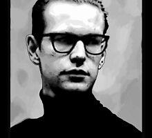 Depeche Mode : Fletch from 101 poster - 2 by Luc Lambert