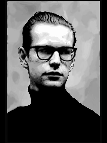 Depeche Mode : Fletch from 101 poster - 2 by Luc Lambert