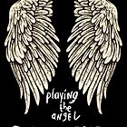 Depeche Mode : Playing the Angel - Only Wings 2 - White by Luc Lambert