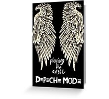 Depeche Mode : Playing the Angel - Only Wings 2 - White Greeting Card