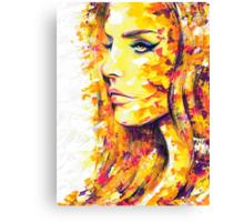 SIDEWAYS / Lana Del Rey Canvas Print