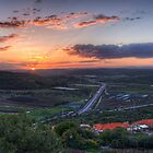 Sunrise Over Ein Tut by Neta Bartal