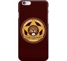 Storybrooke Sheriff Department iPhone Case/Skin