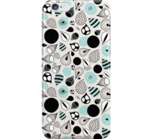 abstract pattern of drops and stains iPhone Case/Skin