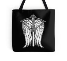 Angel Wings and Crossbow (Clean) Tote Bag