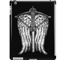 Angel Wings and Crossbow (Dirty) iPad Case/Skin