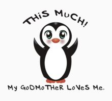 Godmother Loves Me ~ Baby Penguin Kids Clothes
