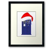 Santa Who Framed Print