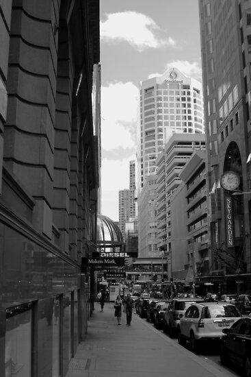 Downtown - Sydney by Noel Elliot
