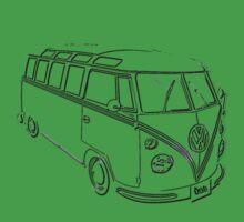 VW Kombi Samba by frenzix