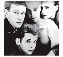 Depeche Mode : Single 81-85 - Paint B&W Kids Clothes