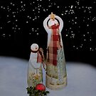Starry Night Snowmen by Kathy Weaver