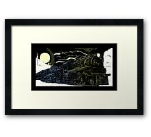 The Newfie Bullet in the Gaff Topsails Framed Print