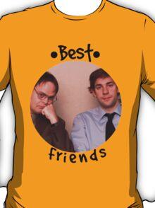 Jim and Dwight - Best Friends Unite! T-Shirt