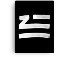 Zhu logo Canvas Print