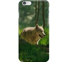 Timberwolf in Forest  iPhone Case/Skin