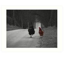 Are we being followed? Art Print