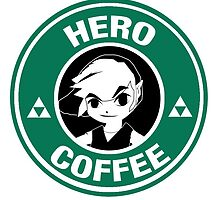 Hero Coffee - Toon Link by alessyaveronica