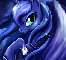 Princess Luna by AngelTripStudio