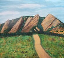 the flatirons by dbcarolinagirl