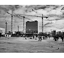 Urban Space Chronicle Photographic Print